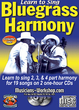 Learn to Sing Bluegrass Harmony How to Sing Course Singing Instruction