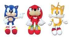 REAL  GE Animation Sonic Plush Set OF 3  - Sonic/Knuckles/Tails