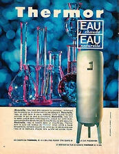 PUBLICITE ADVERTISING 034   1965   THERMOR   chauffe-eau cuve FLEXOVER