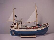 DIGITAL PLANS ONLY Norden Cutter  STATIC/NO RC Model Boat FOR BEGINNERS