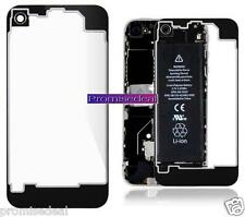 Transparent Glass Replacement Back Cover Housing For IPHONE 4 4g+ SCREWDRIVERS