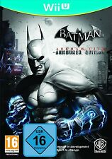 Nintendo Wii U Batman Arkham City Armoured Edition NUOVO & OVP