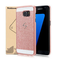 Luxury Bling Glitter Crystal Hard Back Phone Case Cover For Samsung Galaxy Model