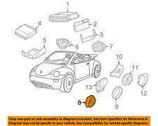 VW VOLKSWAGEN OEM 03-10 Beetle Stereo Audio Radio-Front Door Speaker 1Y0035411M