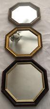 Windsor Art Vintage Octagon Mirrors Set Of 3 Gold Leaf Home Decor