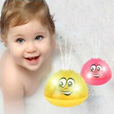 Kids Baby Toddlers LED Light Up Float Bathtub Spray Toys Water Squirt Bath Toy