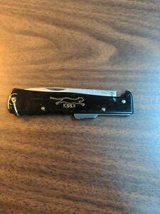 Vintage German Mercator K55K Folding Knife Dagger Solingen Rare