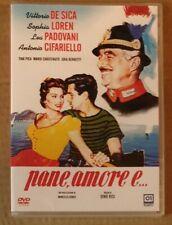 Pane Amore E...DVD VITTORIO DE SICA .SOPHIA LOREN NUOVO SIGILLATO