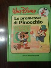 Le promessi di Pinocchio  walt disney - anno 1987 rarità