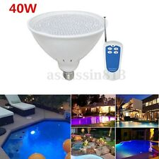 40W AC 12V Par56 E27 DIP RGB LED Swimming Pool Light Fountain Bulb Lamp