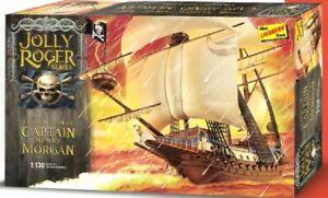 Jolly Roger Series Sir Henry Morgan Pirate Ship 1/160 Scale Model Kit Lindberg