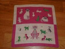 Vintage Tammis Keefe Cheeky Cats & Kittens Hanky Handkerchief Hankie