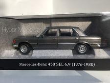 NOREV 1/18 Mercedes Benz S-Class 450 SEL 6.9 (W116) 1976 Grey Met Art. B66040642