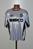 BESIKTAS TURKEY 1999/2000 HOME FOOTBALL SHIRT JERSEY REEBOK SIZE XL ADULT