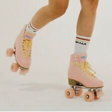 Impala Skates Size 6 Pink/Yellow