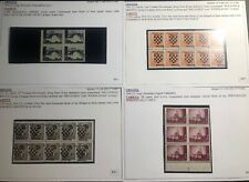 Mint Croatia Puppet State Germany Provisional Stamp Collection Lot