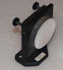 "Metallic Concave Laser Optical Mirror 2.5"" Dia. 3.82""Sphere  with mount"