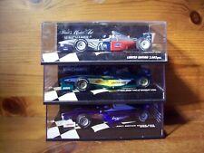 3 1/43 MINICHAMPS EVENT CARS 2001 BRITAIN + 2001 AUSTRALIA + 2002 USA