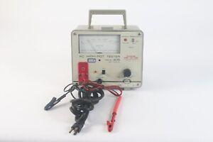 Biddle Modèle 305 AC Haut Pot Testeur Avec Sondes - Comme Est