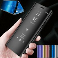For OPPO A9 A5 2020 Realme 6 5 Pro Reno 2 Z Smart Mirror Leather Flip Case Cover