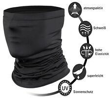 Multifunktionstuch Schlauchschal Maske Halstuch Motorrad Fahrrad Outdoor Schwarz