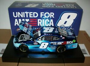 DALE EARNHARDT JR #8 UNITED FOR AMERICA 2021 1/24 ACTION COLOR CHROME 324 MADE