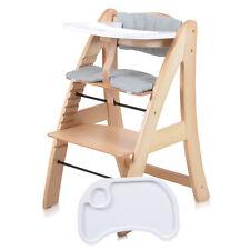 Treppenhochstuhl Hochstuhl Kinderhochstuhl Babystuhl inkl. Tablett + Sitzauflage