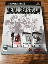 Metal Gear Solid: The Essential Collection (Sony PlayStation 2, 2008)