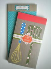 HALLMARK NOTEPAD SET ~ 2 Note Pads ~ 80 Lined Sheets in Each