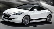 peugeot rcz side stripes graphics stickers decal