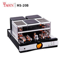 YAQIN MS-20B Bluetooth 5.0 HD apt-X CSR8675 6J1 6Z4 EL34 Vacuum Tube Amplifier