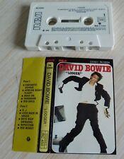 RARE K7 CASSETTE AUDIO TAPE DAVID BOWIE LODGER