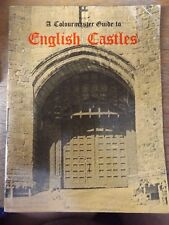 A COLOURMASTER GUIDE TO ENGLISH CASTLES PAPERBACK BOOK