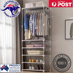 Simple Coat Rack Floor Clothes Hangers Creative Clothing Rack Shelf Easy Assembl