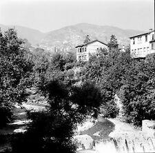 TURQUIE c.1960 - Maisons Rivière  Bursa - Négatif 6 x 6 - Tur 15