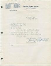 Henrik Shipstead - Typed Letter Signed 08/03/1945