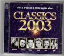 (HN958) Classics 2003, 37 tracks various artists - 2002 double CD