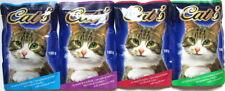 96 x 100g Katzenfutter 4 Sorten in Gelee Pouchbeutel *1,50 € pro kg*