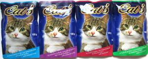 264 x 85/100g Katzenfutter Mix diverse Sorten Pouchbeutel *versandfrei*