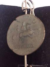 """Sestercios de Nero moneda romana WC29 Bufanda Broche y Kilt Pin estaño 3"""" 7.5 Cm"""