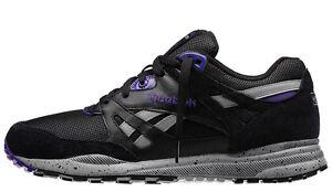 REEBOK V52239 VENTILATOR  Mn's (M) Black/Grey/Violet Mesh/Suede Athletic Shoes