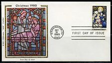 United States Colorano 1980 Christmas Washington Dc First Day Cover