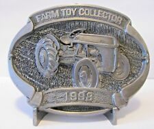 Ford 8N Tractor Pewter Belt Buckle Ltd Ed 139/500  6th Series Farm Toy Collector