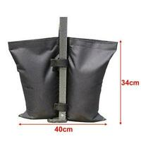 1PC Black Gazebo Sand Bags Weights For Gazebo Awning Marquee P9C3