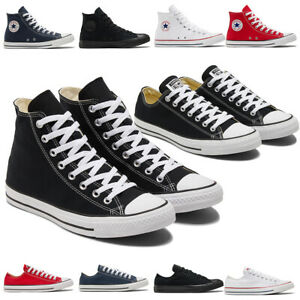 Converse Unisex Chuck Taylor All Star Canvas Low Hi Scarpe Da Ginnastica Sneaker