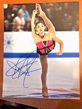 Mirai Nagasu Autographed Team USA Figure Skating 8x10 Photo PyeongChang 2018