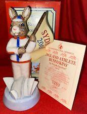 "Royal Doulton Bunnykins: England Athlete Sydney Db216 5.5"" 2000 Ltd 2500"
