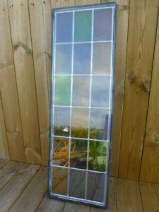 Dekorative Bleifenster mit Doppelverglasung 91,8x29,9| Dänische