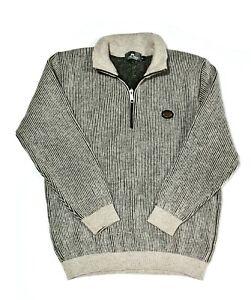 Silver Stream NZ wool jumper Navy M 100% Wool