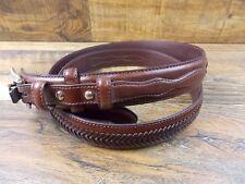 Nocona Men's Brown Top Hand Western Belt Size 52 N2476802